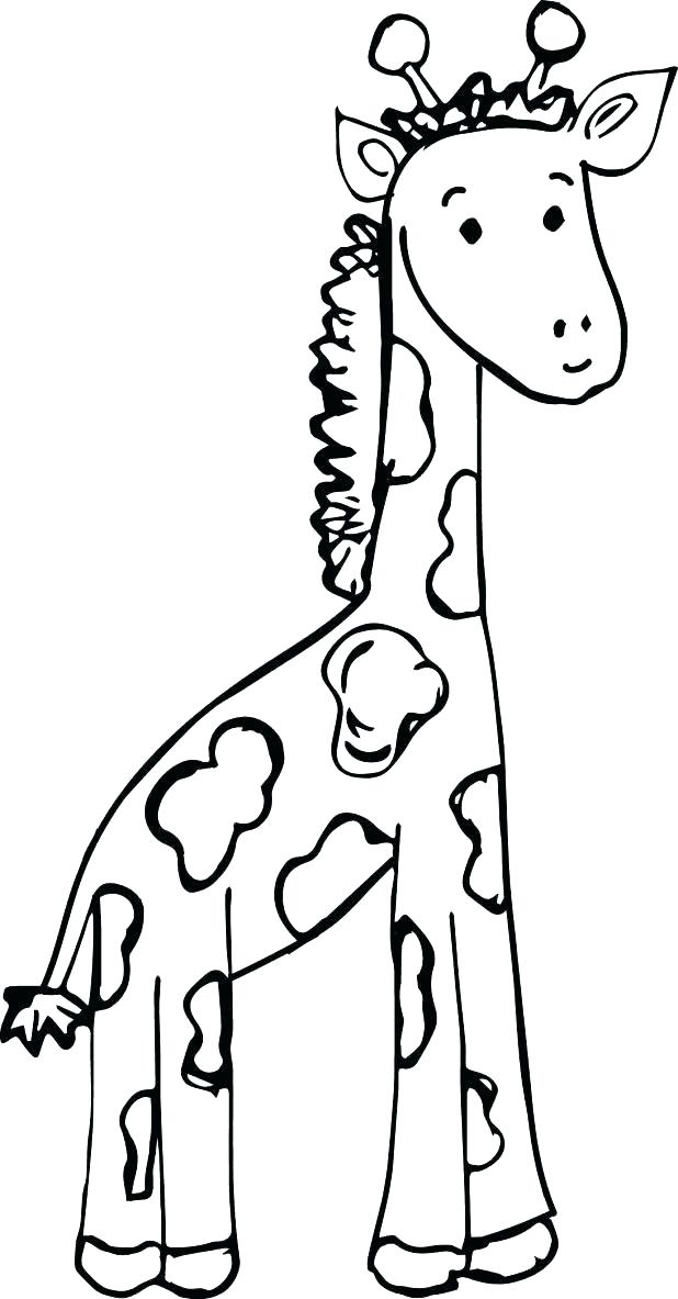 618x1183 Printable Giraffe Coloring Pages