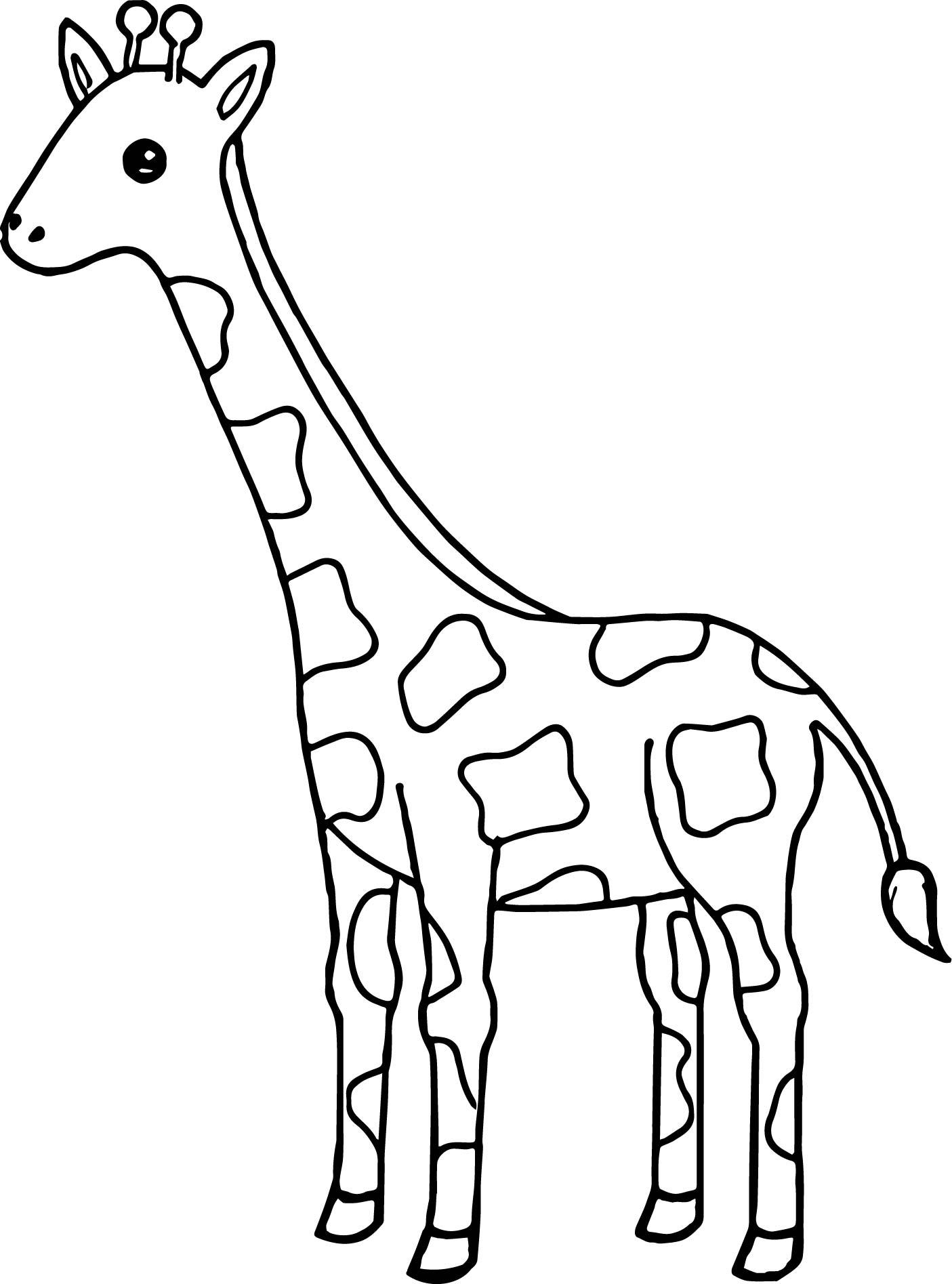 1405x1895 Giraffes Coloring Pages Giraffe Eating Banana Coloring Page Free
