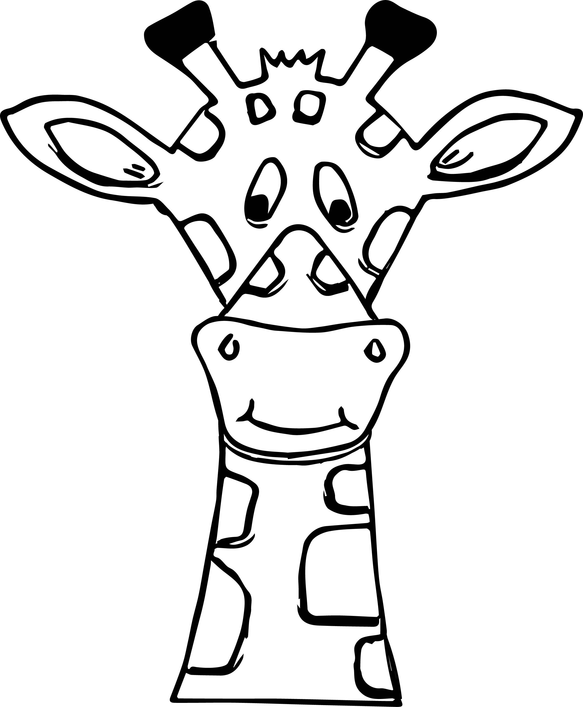 2410x2919 Unbelievable Zentangle Giraffe Stock Vector Illustration