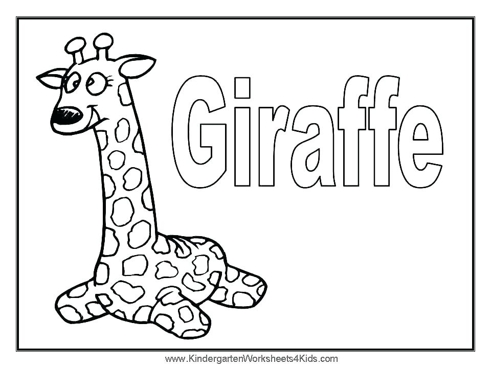 960x720 Giraffe Color Pages Giraffe Color Page Cute Giraffe Coloring Pages
