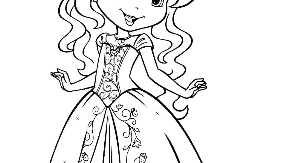Girl Coloring Pages For Kids
