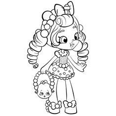 236x236 Girl Coloring Hand Drawn Doodling Coloring Digi Stamp Clip Art