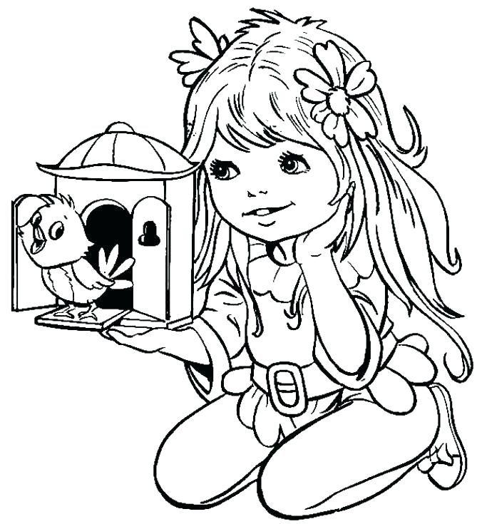 669x735 Batgirl Coloring Pages Printable Girl Coloring Pages Coloring