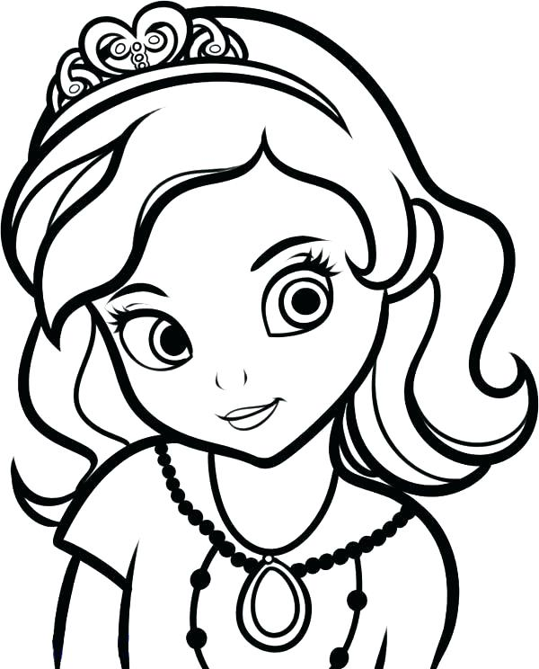 600x744 Girl Coloring Pages Girl Coloring Sheets Girls Coloring Pages