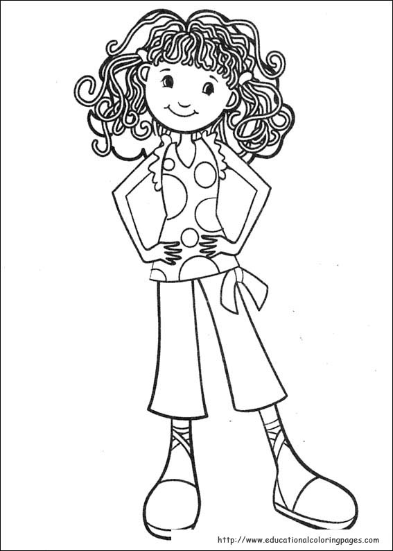 567x794 Groovy Girls Coloring Pages Free For Kids