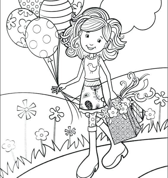 567x600 Printable Girl Coloring Pages Printable Girl Coloring Pages