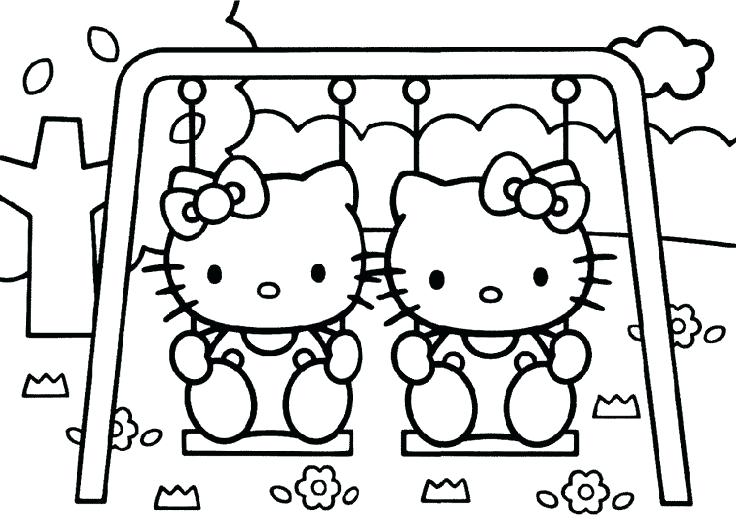 736x527 Little Girl Coloring Pages Icontent
