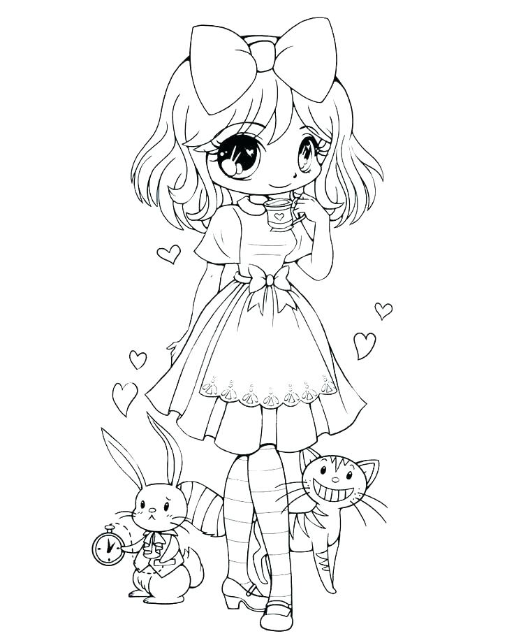 736x920 Pretty Girl Coloring Pages