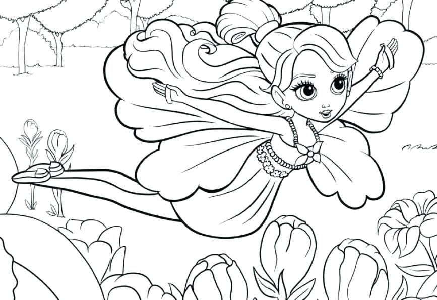 867x596 Printable Girl Coloring Pages