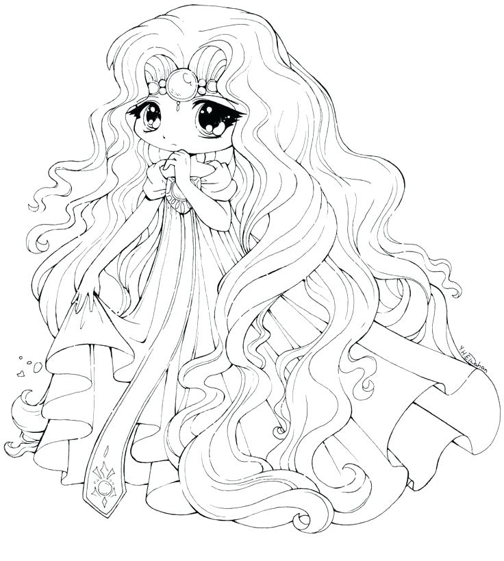 736x819 Anime Girl Coloring Pages Anime Coloring Pages Online Anime Girl
