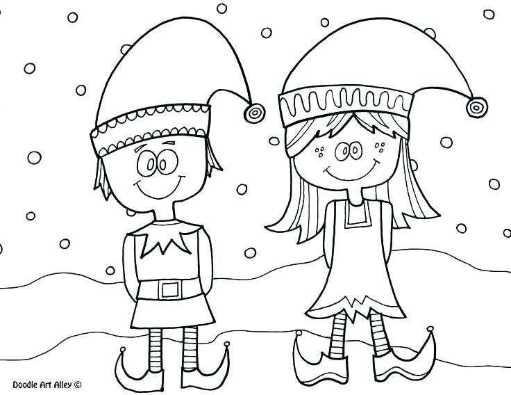 736x568 Elves Coloring Pages Tiger And Elf Kid Costumes Elf Carnival
