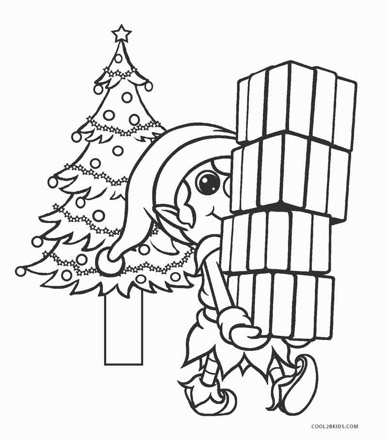 800x907 Free Printable Elf Coloring Pages For Kids