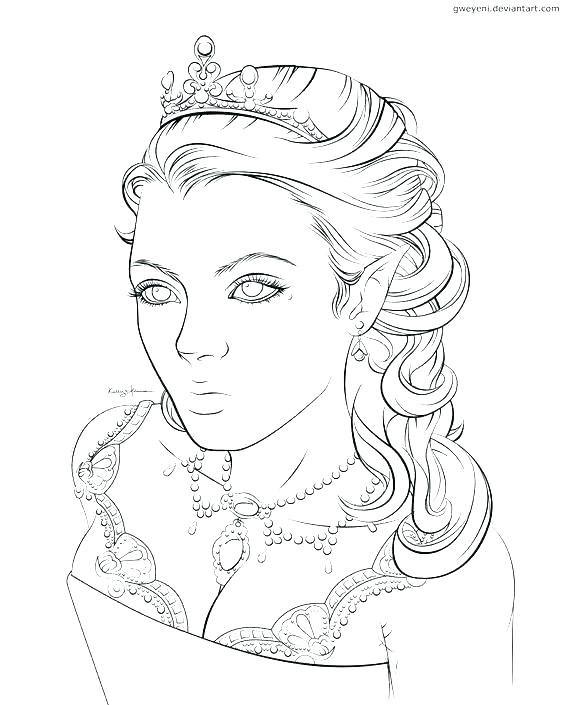 564x705 Elf Coloring Pages Printable Professional