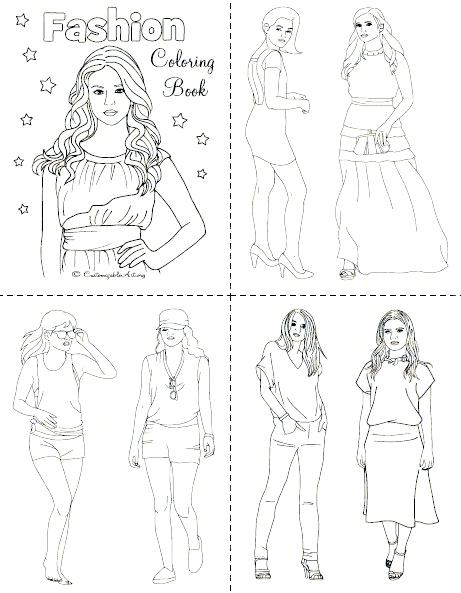 461x593 Fashion Coloring Books Together With Fashion Coloring Pages