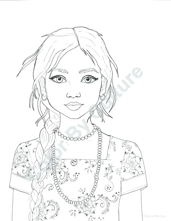 570x738 Fashion Coloring Pages Adult Coloring Fashion Coloring Page