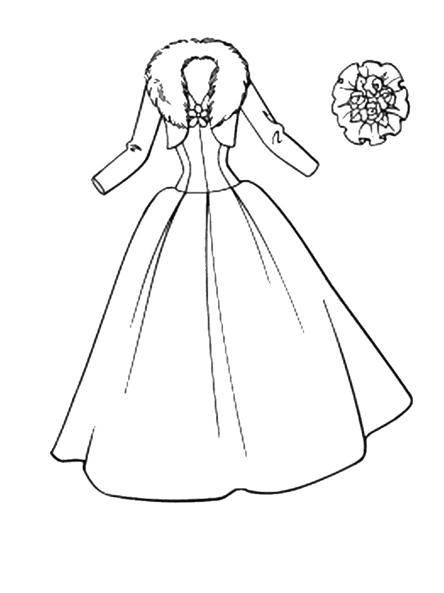 898x1200 Fashion Coloring Pages
