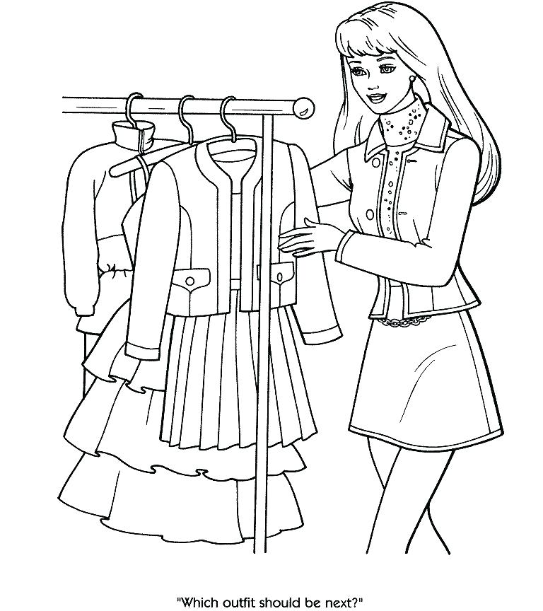 768x864 Fashion Coloring Sheets Fashion Coloring Pages Free Printable
