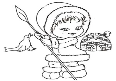 476x333 Eskimos Cartoon Pictures Coloring Pages Page Image Clipart Images
