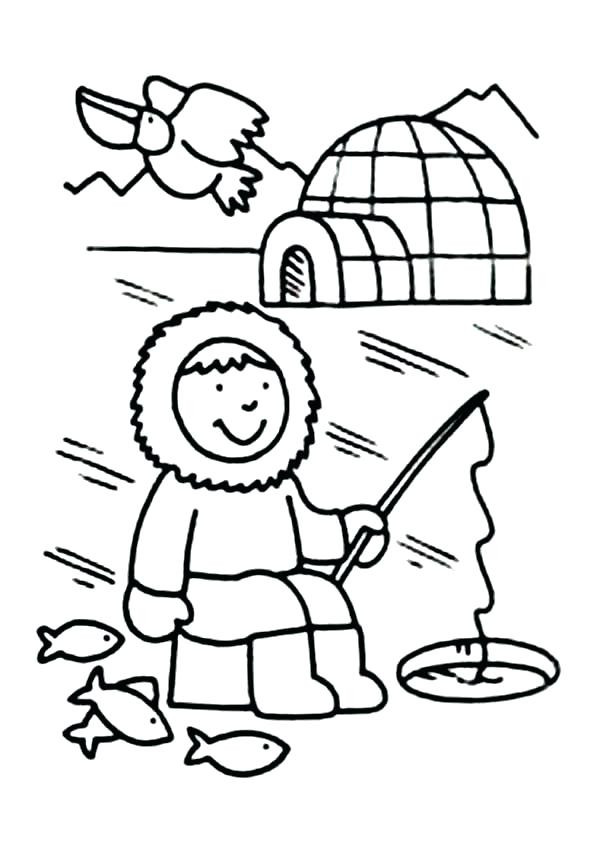 600x848 Black Hole Coloring Pages Page Fishing Girl Fuhrer Von