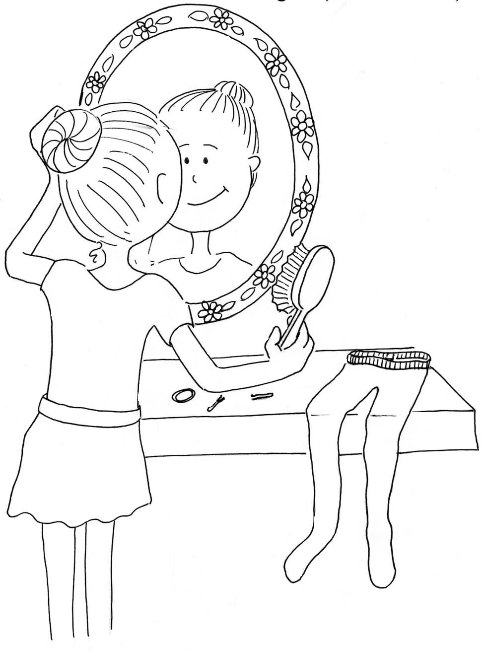 975x1311 Marvelous Bing Coloring Pages Coloring In Funny Girl Hair Coloring