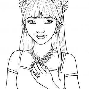 300x300 Printable Hair Coloring Pages Best Of Free Printable Adult