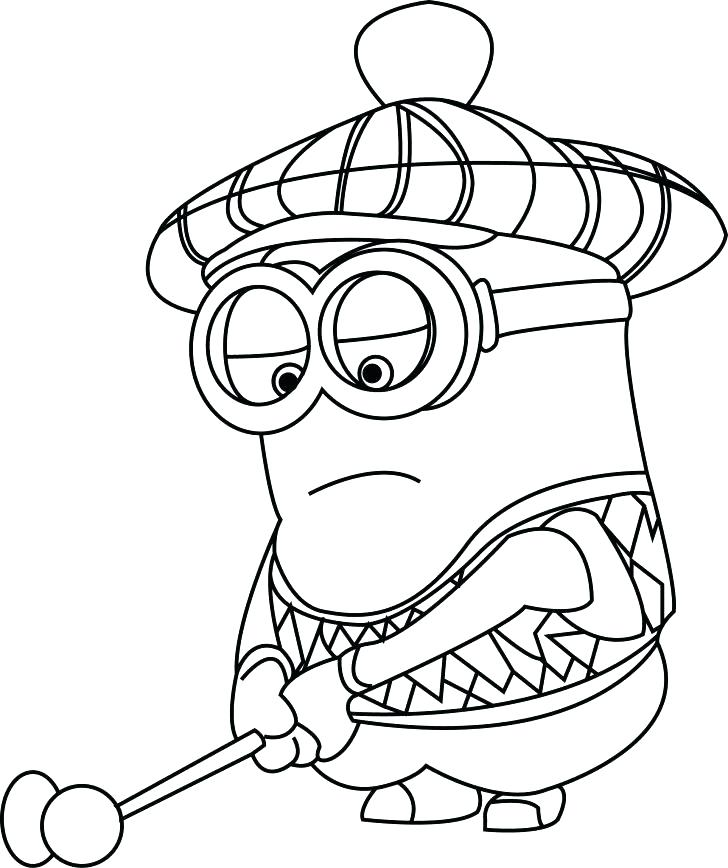 728x868 Despicable Me Minion Coloring Pages Despicable Coloring Pages