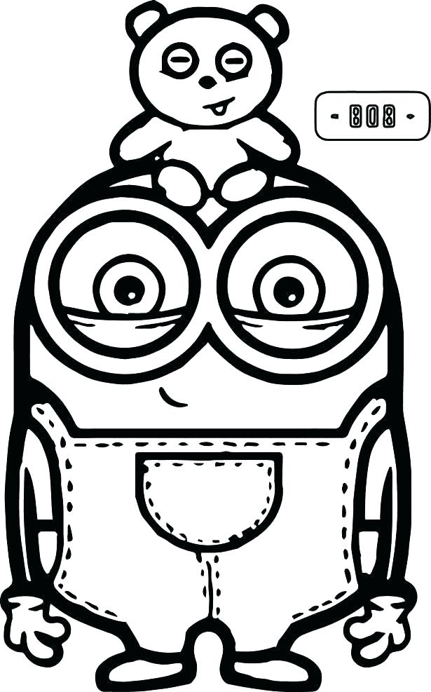 615x987 Minion Coloring Pages To Print Free Coloring Pages Free Printable