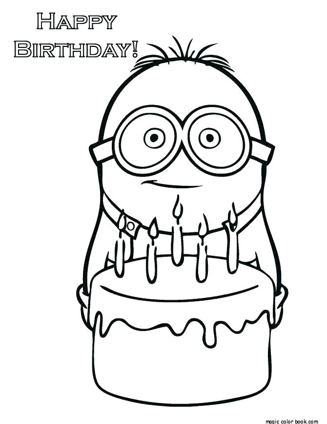 670x867 Minion Girl Despicable Me Coloring Pages Birthday Ideas Minion