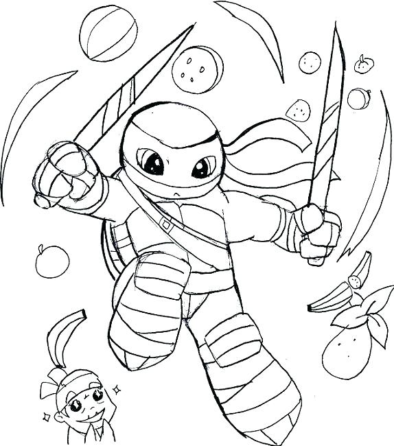 574x650 Ninja Coloring Pages Girl Ninja Coloring Pages Ninja Coloring
