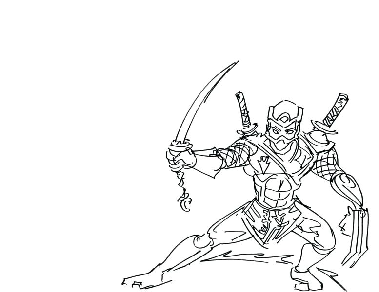 777x600 Ninja Coloring Pages To Print Girl Ninja Coloring Pages Lego