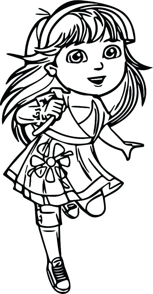 497x952 Teenage Girl Coloring Pages