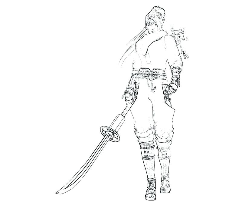 800x667 Ninja Coloring Pages Momjunction