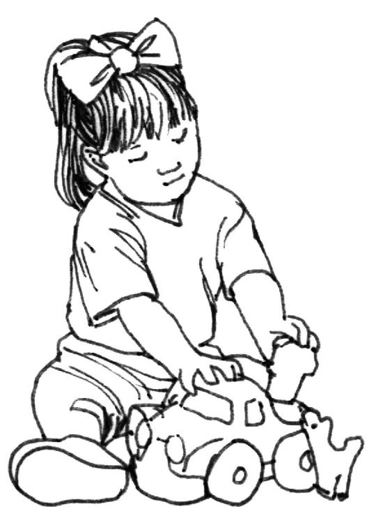 540x743 Free People Coloring Pages