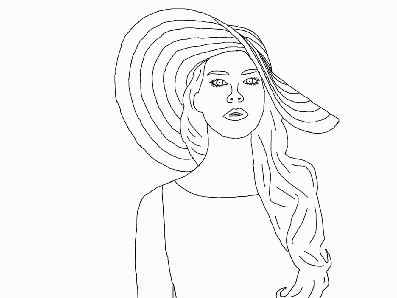 1333x1000 Fresh Adult Coloring Pages Famous Girl Celeberties Design