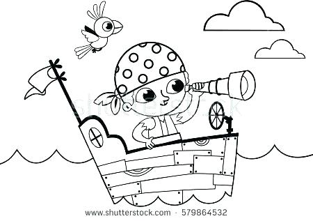 Girl Pirate Coloring Pages At Getdrawings Free Download