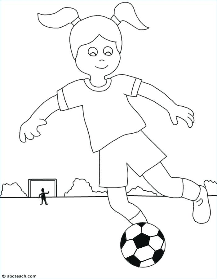 The best free Soccer player coloring page images. Download ...