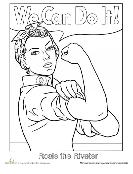 535x696 Printable Coloring Sheets That Celebrate Girl Power Michelle