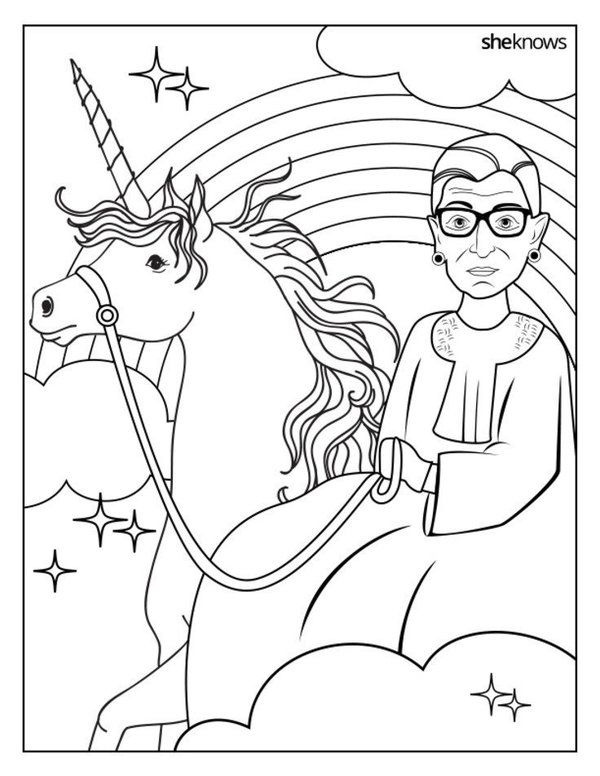 600x776 Printable Coloring Sheets That Celebrate Girl Power Printable