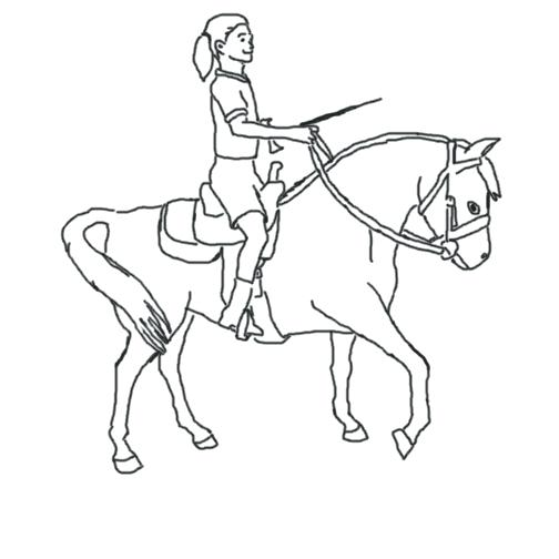504x504 Horse Riding Coloring Pages Fantastic Coloring Pages Girl Riding