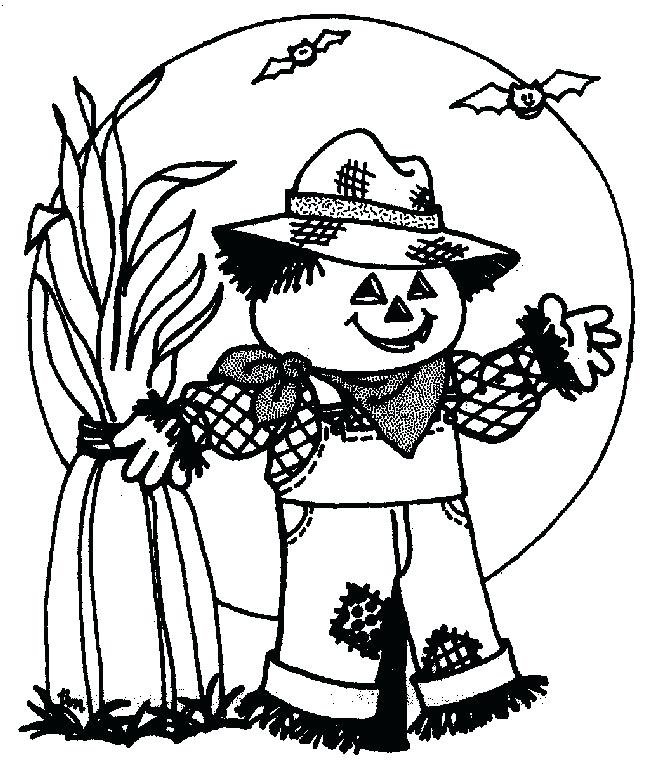 660x772 Scarecrow Coloring Pages Girl Scarecrow Coloring Pages Scarecrow