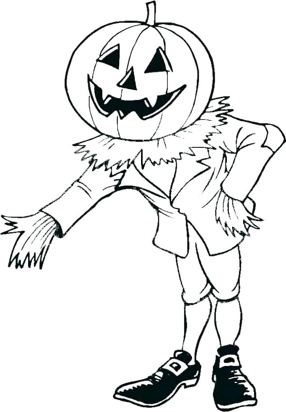 590x850 Scarecrow Coloring Pages Scarecrow Coloring Page Lego Scarecrow