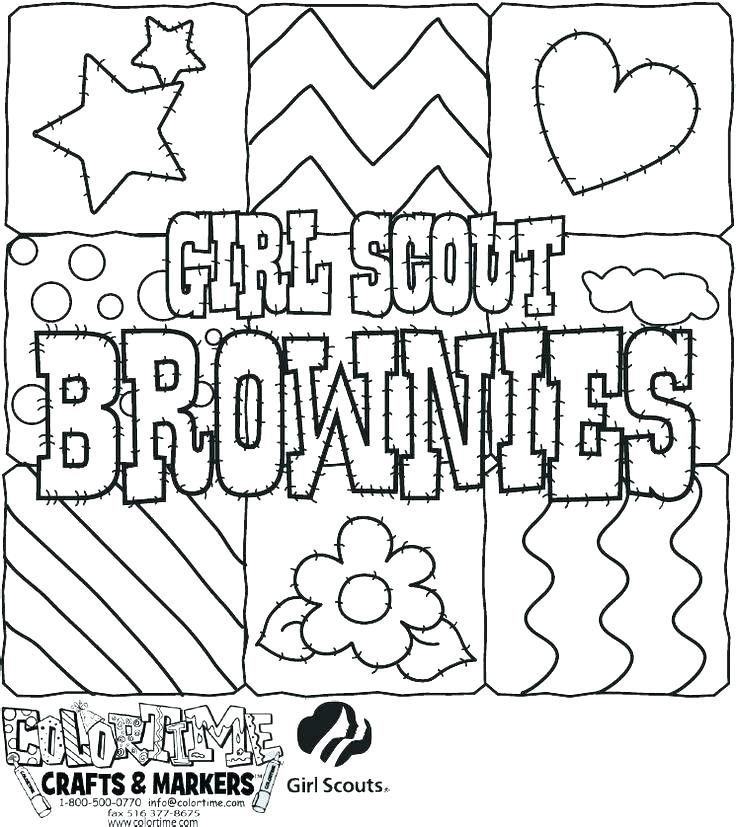 736x827 Girl Scout Coloring Page Boy Scout Coloring Pages Girl Scout Law