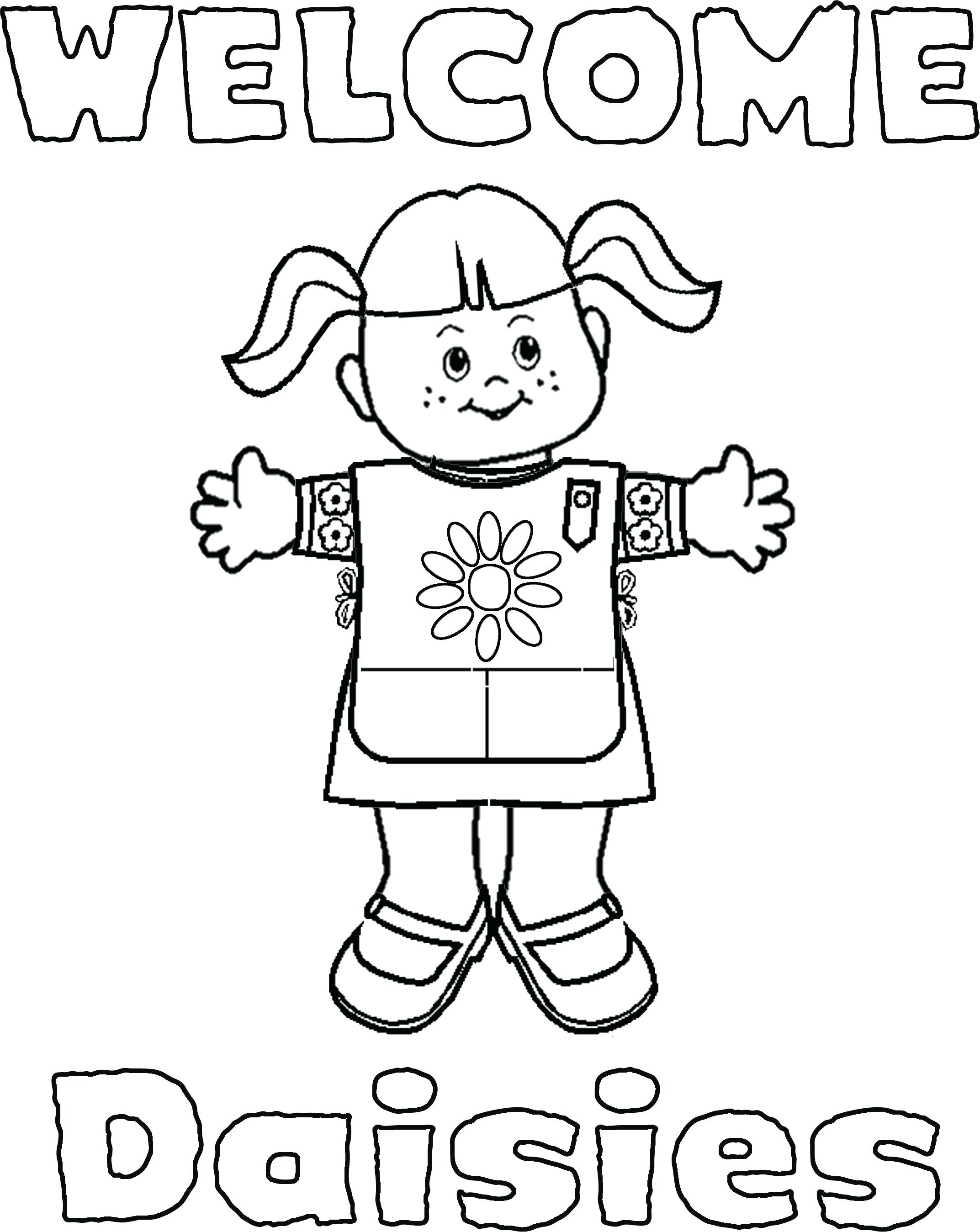 2145x2697 Girl Scout Cookie Coloring Pages