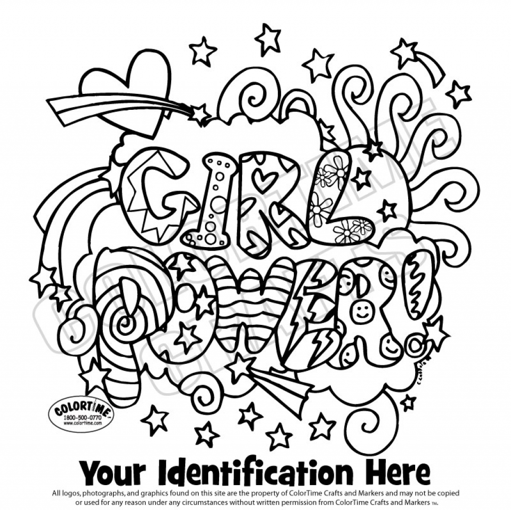 1024x1022 Girl Scouts Coloring Pages Free Printable