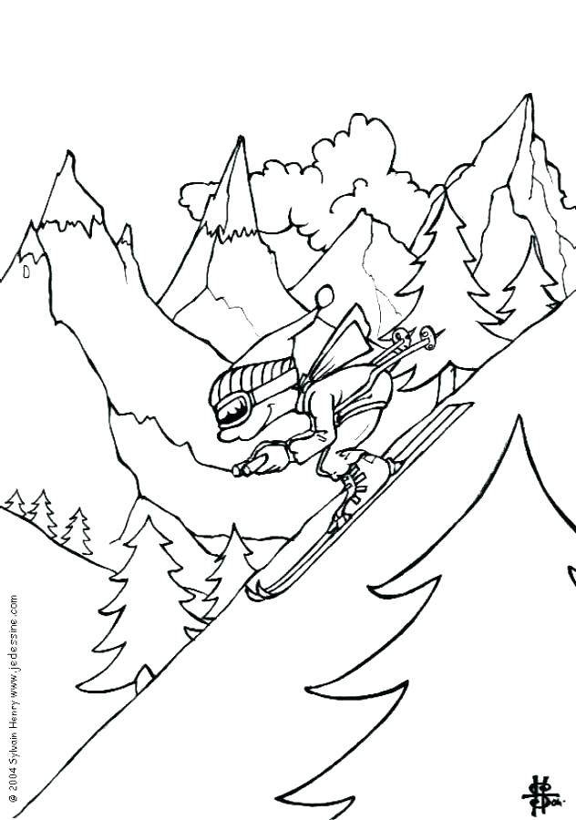 632x900 Coloring Pages Sports Sports Coloring Sheets Sports Printable