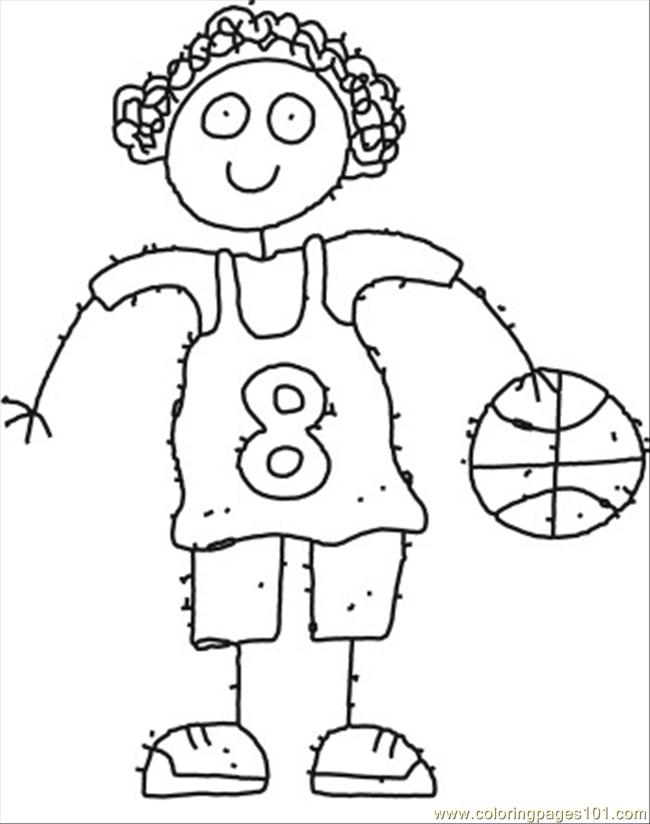 650x824 Ll Girl Cartoon Coloring Page Coloring Page