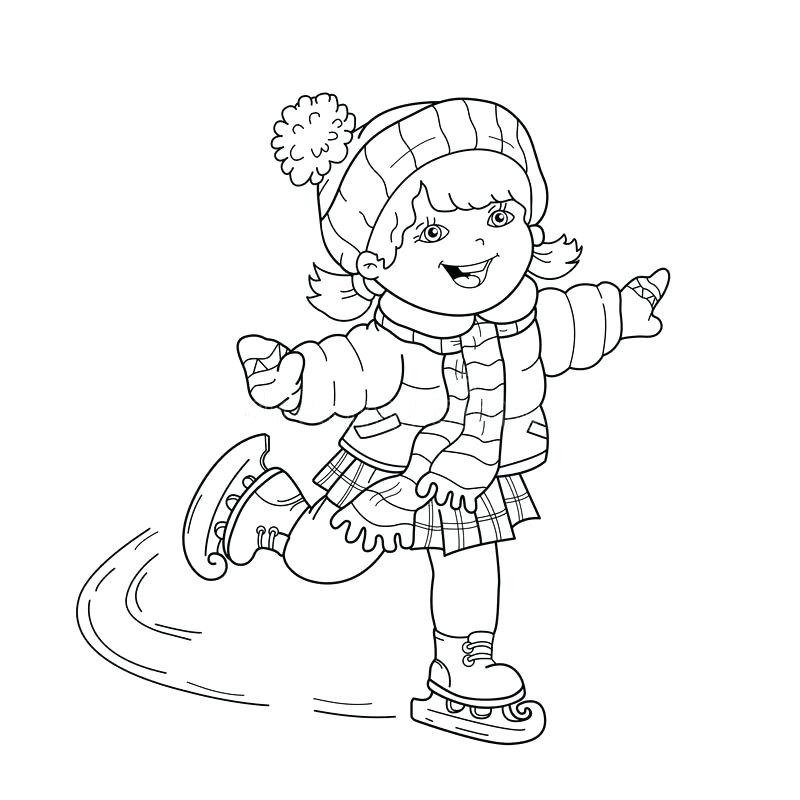 800x800 Winter Sports Coloring Pages Coloring Pages Of Sports Sports