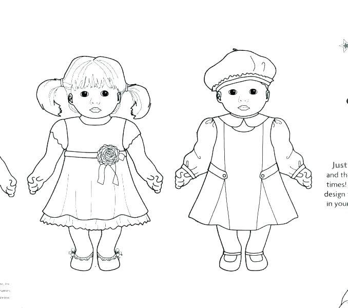 678x600 Coloring Pages Girl Girl Doll Coloring Pages Free Coloring Pages
