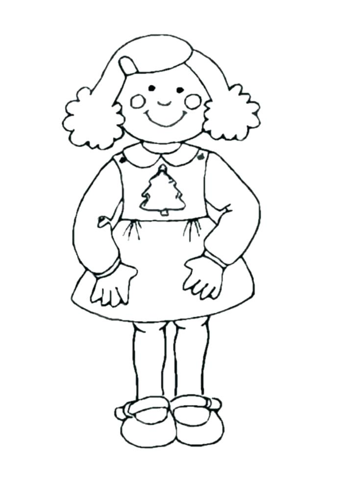 698x985 American Girl Coloring Pages Printable Girl Coloring Pages