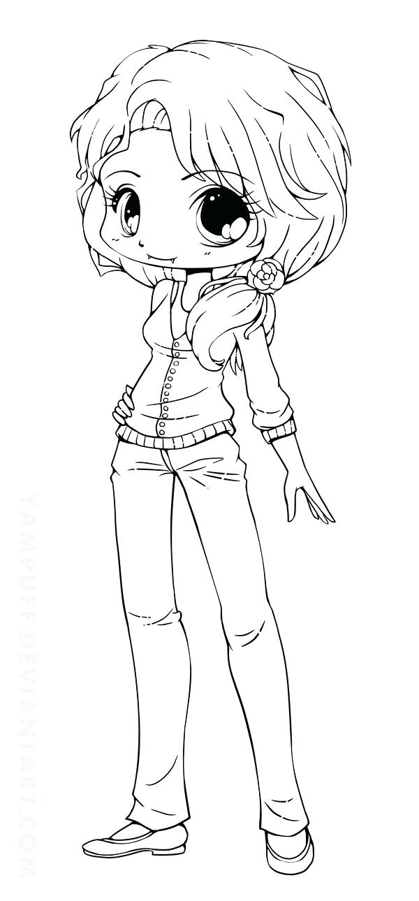 600x1290 Or Free Coloring Pages Chibi Colouring Pages